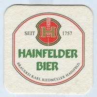Hainfelder костер<br /> Страница А