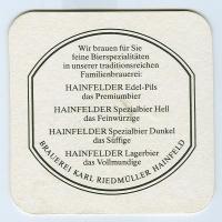 Hainfelder костер<br /> Страница Б<br />